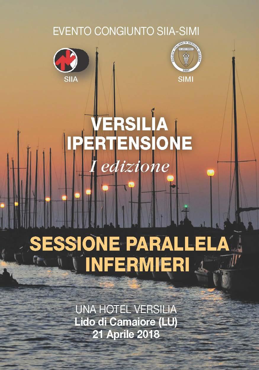 """Evento congiunto SIIA-SIMI  """"VERSILIA IPERTENSIONE-I Ed."""" SESSIONE PARALLELA INFERMIERI"""