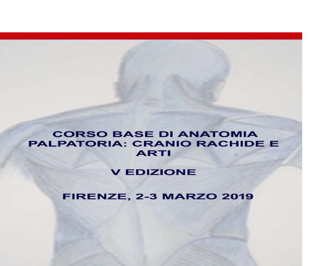 Corso base di Anatomia Palpatoria