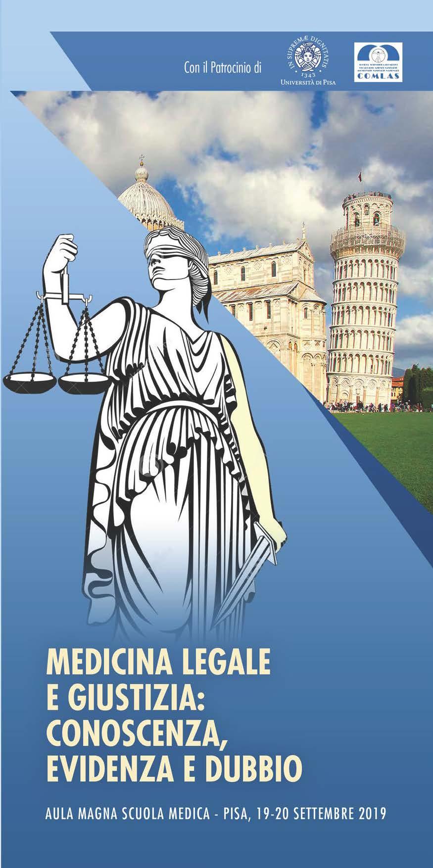 MEDICINA LEGALE E GIUSTIZIA