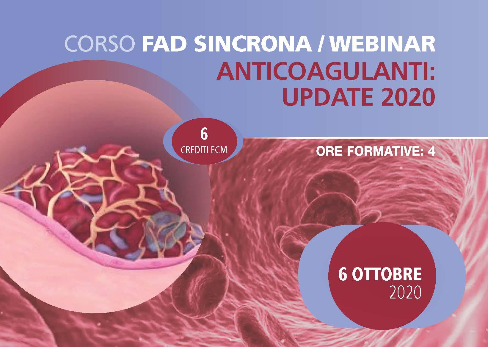 Anticoagulanti: Update 2020