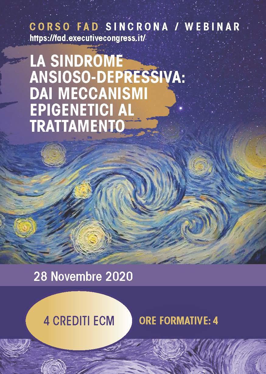 LA SINDROME ANSIOSO-DEPRESSIVA: DAI MECCANISMI EPIGENETICI AL TRATTAMENTO