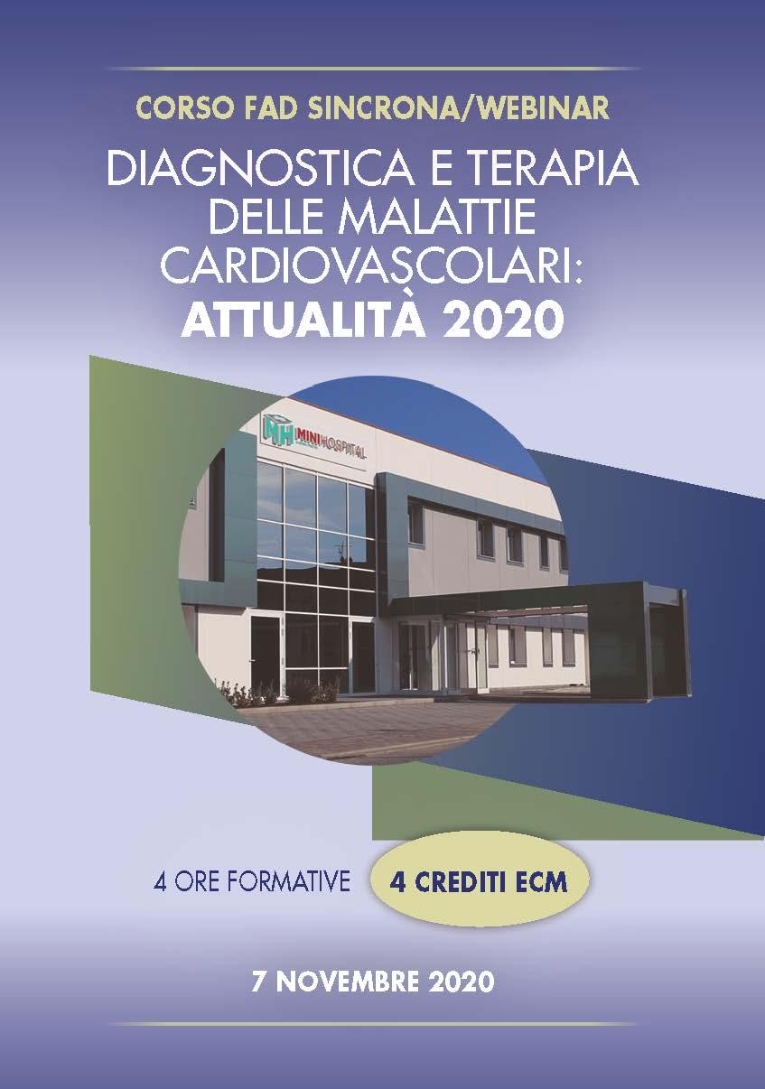 DIAGNOSTICA E TERAPIA DELLE MALATTIE CARDIOVASCOLARI: ATTUALITÀ 2020