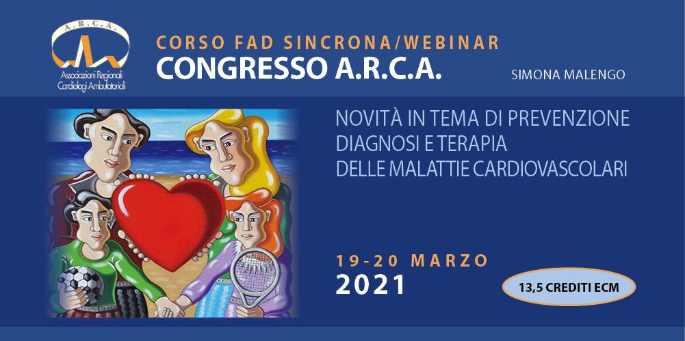 Congresso A.R.C.A.: novità in tema di prevenzione, diagnosi e terapia delle malattie cardiovascolari